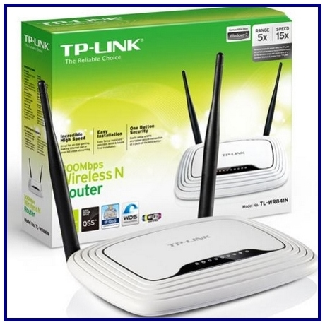 TP-LINK TL-WR841N 300M wireless router 2 antennás